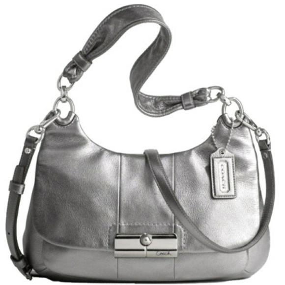 COACH 16931 Kristin leather hobo